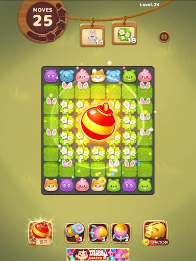 Candy Friends Forest : Match 3 Puzzle 1.1.4 screenshots 12
