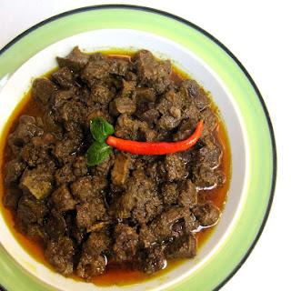 Kolija Vuna/Goat Liver Fry in Bengali Way