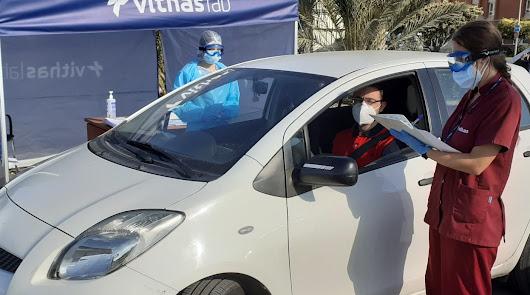 Vithas ya dispone de dos autocovid en Almería y El Ejido