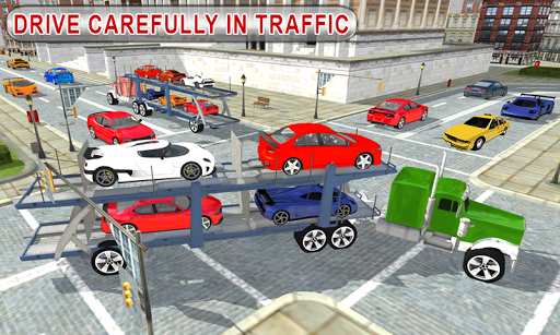 Truck Car Transport Trailer Games 1.5 screenshots 1