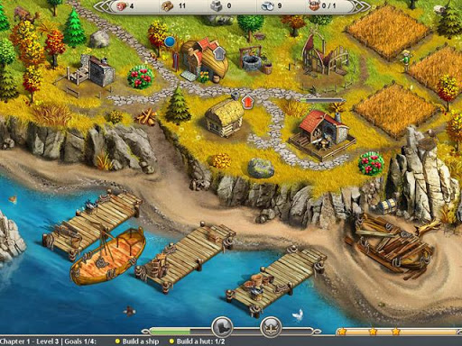Viking Saga 2: New World screenshot 1