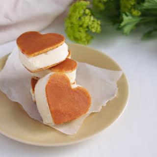 Pancake Ice Cream Sandwiches.