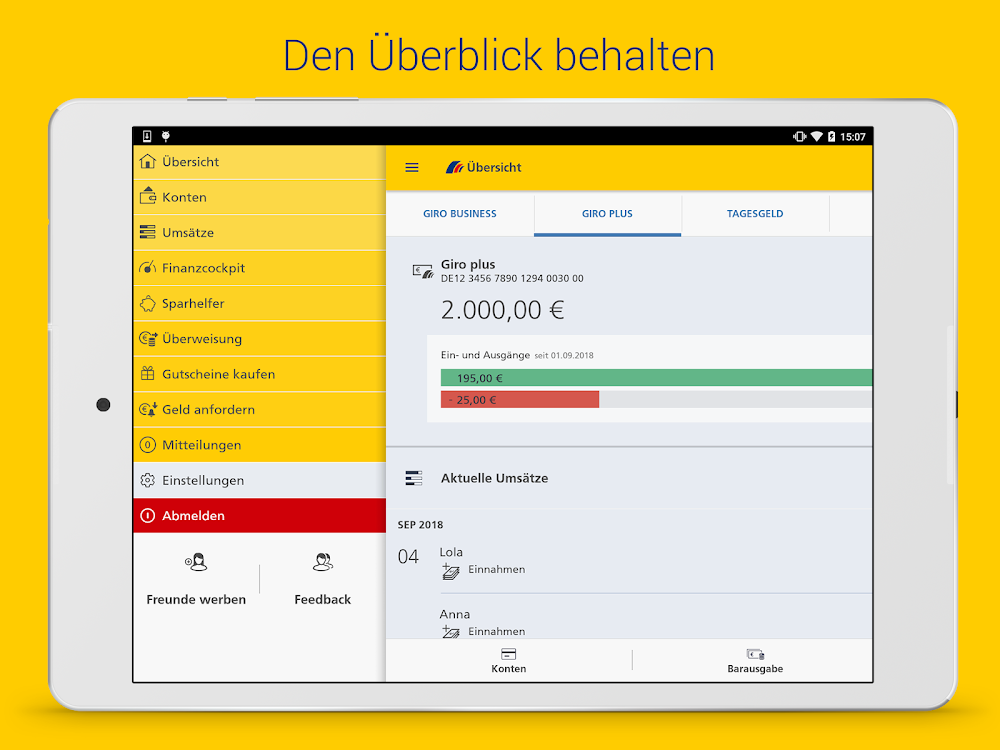 Postbank Finanzassistent Android Apps Appagg