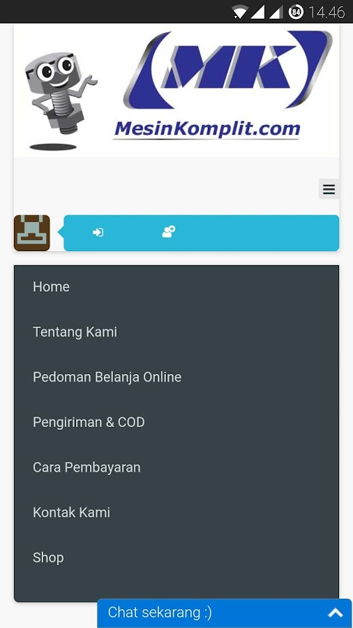 Mesin Komplit- screenshot
