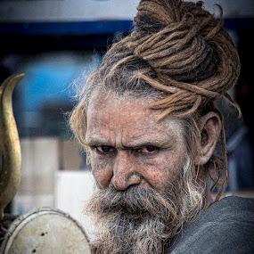 Saint!! by Sudhir Chandra - People Portraits of Men