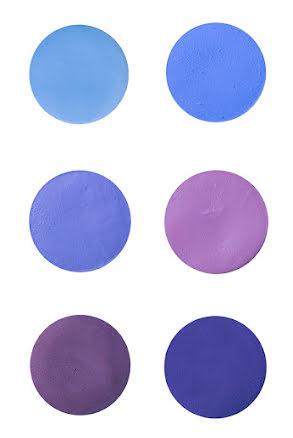 Aquasmink liten, blå/lila