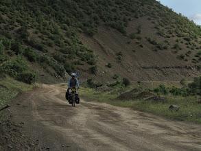 Photo: On my way from Maliq to Gramish