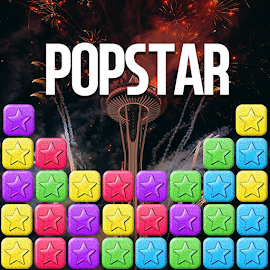POPSTAR FireWork! - Simply puzzle game