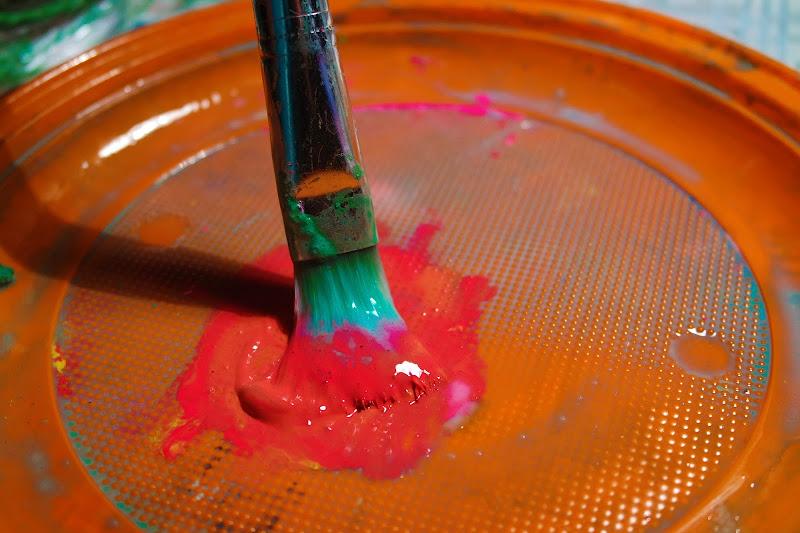 Paint My Life-Pennello e Colore di fregio