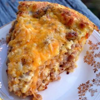 Monterey Sausage Pie.