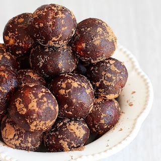 Chocolate Peanut Butter Protein Balls.