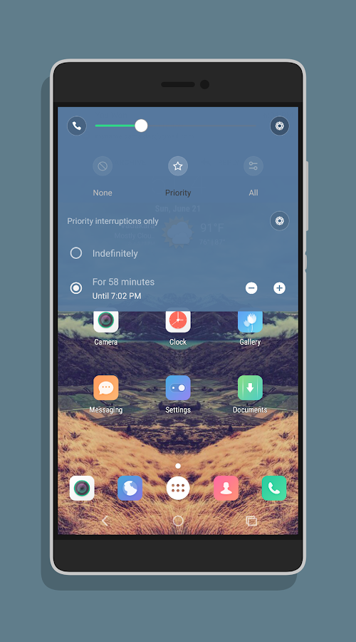 MIUI6 CM12 / PA THEME- screenshot
