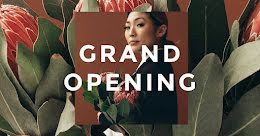 Grand Opening - Facebook Event Cover item