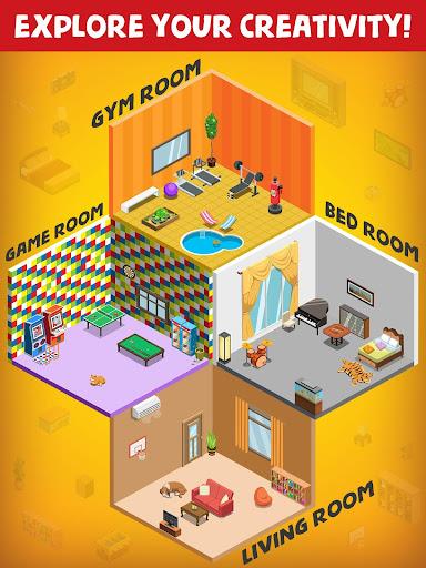 My Room Design - Home Decorating & Decoration Game 1.5 APK MOD screenshots 2