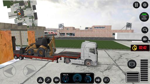 Code Triche Simulateur de camion 2020 : Europe APK MOD screenshots 4