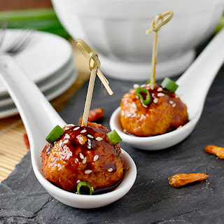 Kung Pao Chicken Meatballs