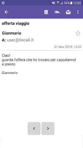 Tiscali Mail screenshots 2