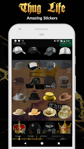 Thug Life Stickers: Pics Editor, Photo Maker, Meme 4.4.96 screenshots 2