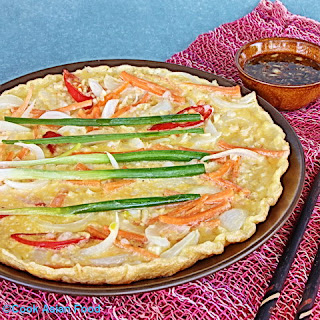 Korean Seafood Pizza