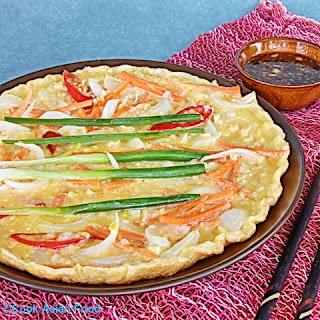 Korean Seafood Pizza.