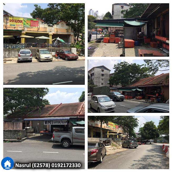 Kedai Teres 1 Tingkat di Jalan Cecawi, Kota Damansara