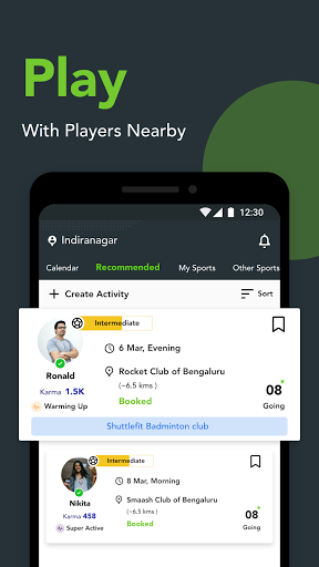 Playo - Find Players, Book Venues, Manage Groups ss1