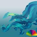 Delight Aqua XZ Theme Xperia icon