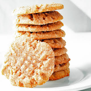 Easy Almond Butter Cookies.