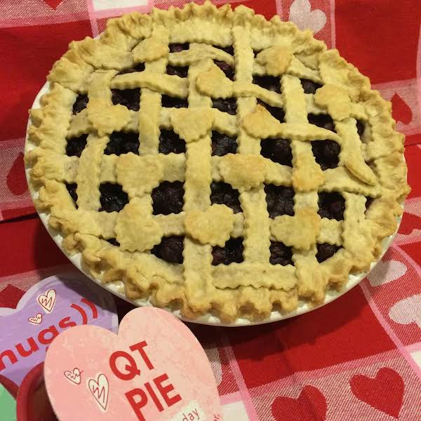 This Is My Hubby's Favorite Pie From His Childhood, When He And His Best Friend Called It A Chicken Pox Pie!  It Now Is Made Whenever He Breaks Out With A Few Boxes Of Blueberries And A Sweet, Goofy Smile.