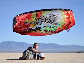 Photo: This one was rendered more accurately and reflects the dryness of the actual lakebed area. I like both photos for different reasons, although this is my favorite photo of the whole day. In all honesty, my main goal in coming to NABX this year was to meet Kieron and photograph his foils. I am happy to have made my goal.