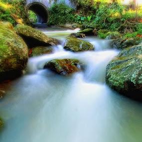 camp river by Rikkiboi Arim - Landscapes Waterscapes