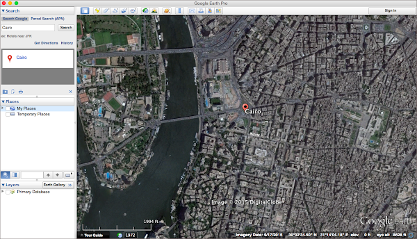 Google Earth Imagery: Cairo