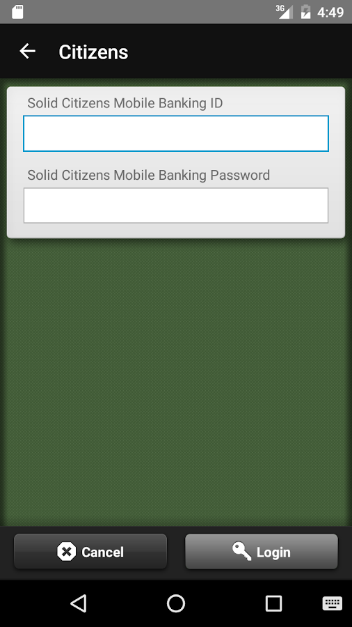 Solid Citizens Mobile Banking- screenshot