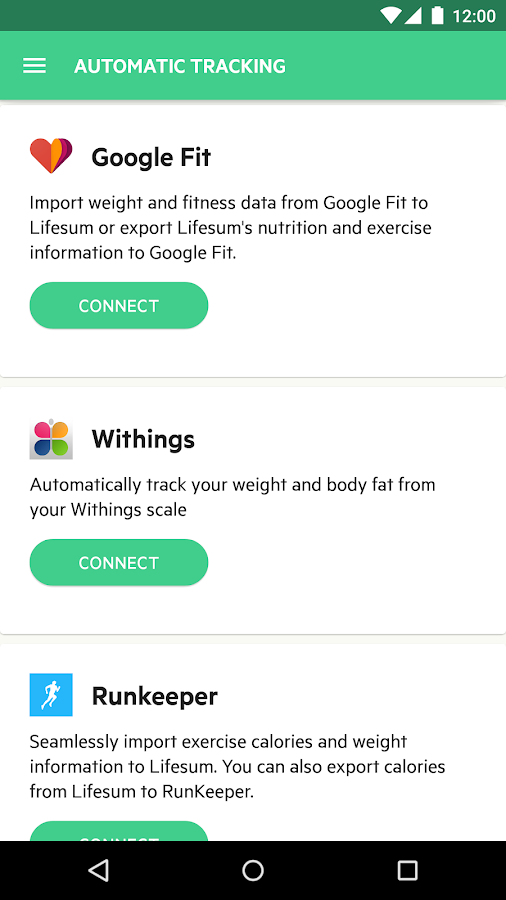 Lifesum: Healthy lifestyle app- screenshot