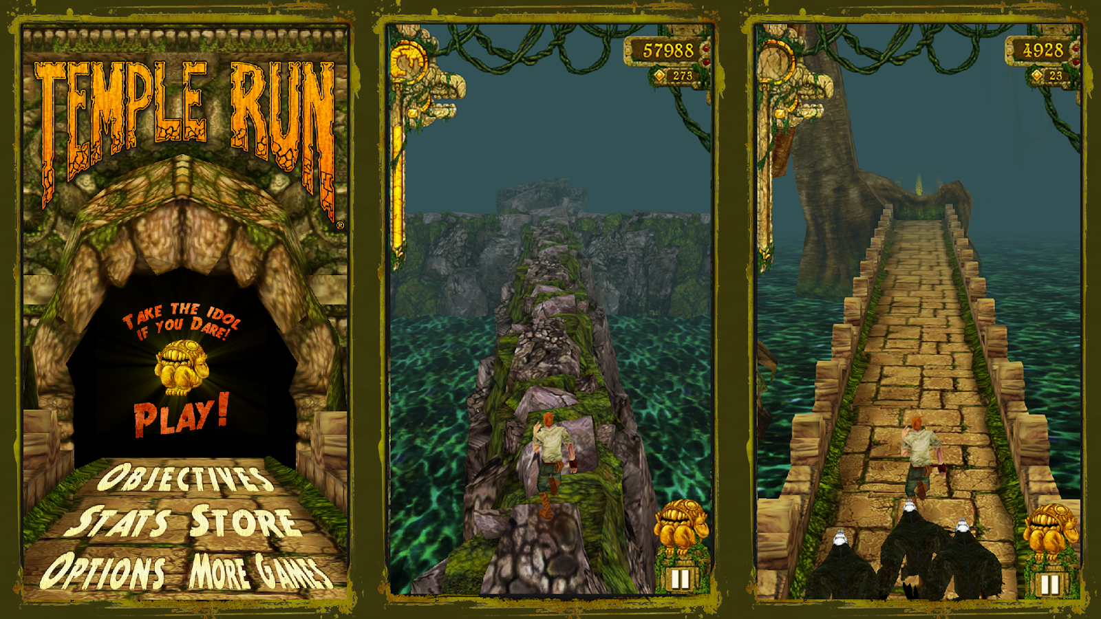 Screenshots of Temple Run for iPhone