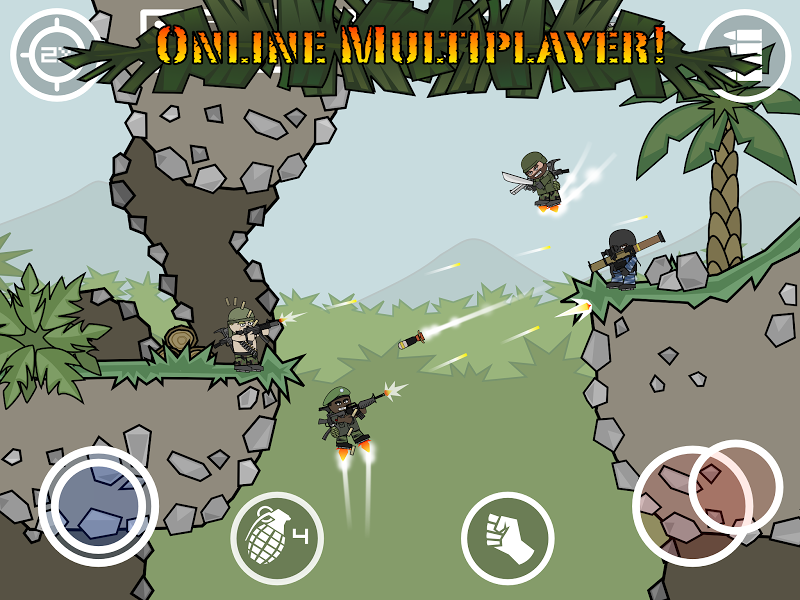 Mini Militia - Doodle Army 2 Screenshot 10
