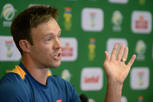 AB De Villiers. Picture: GALLO IMAGES