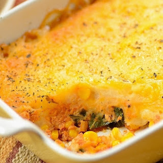 Escondidinho de Frango (Brazilian Chicken Shepherd's Pie)
