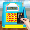 Grocery Market Kids Cash Register - Games for Kids icon