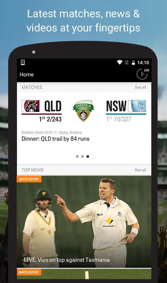 Cricket Network- screenshot