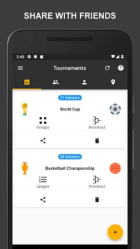 Winner - Tournament Maker App, League Manager 9.1.0 Screenshots 5