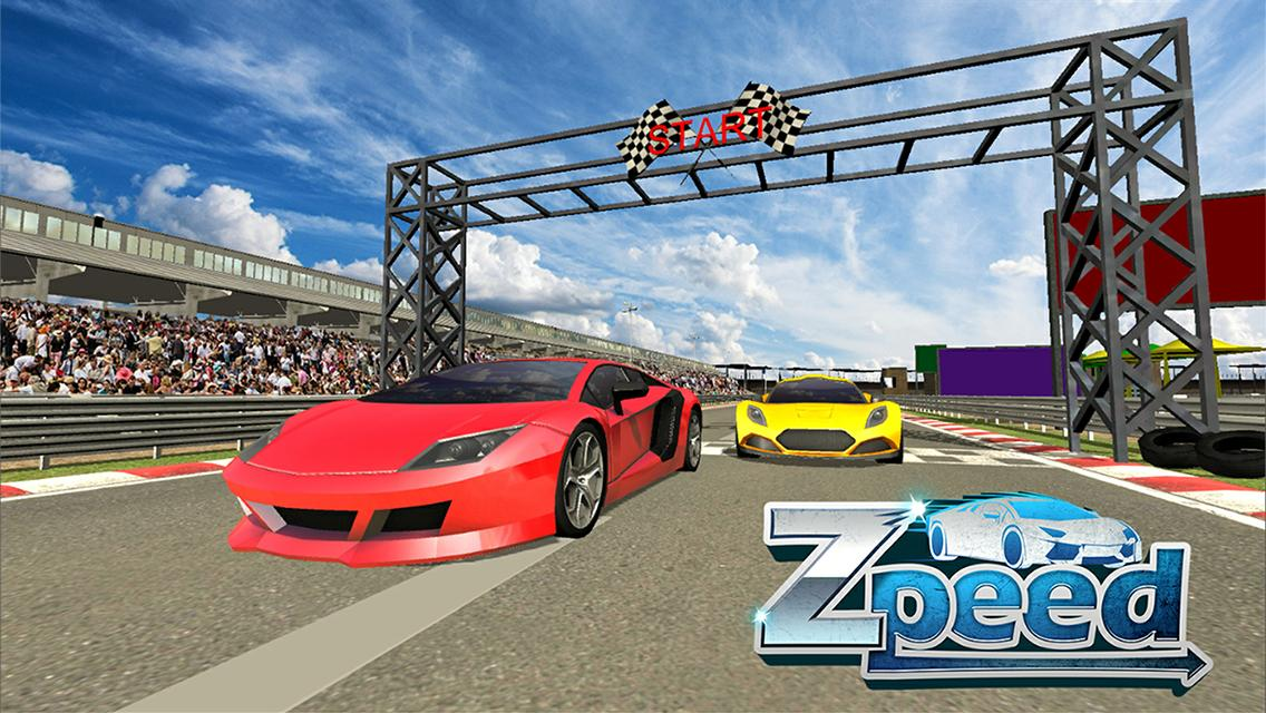 Zpell Racing Game- screenshot