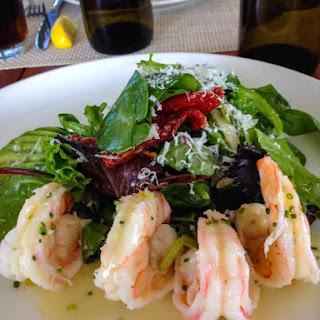 Warm Shrimp and Avocado Salad.