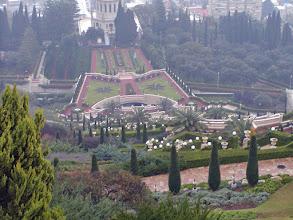 Photo: The Baha'i Temple and Gardens at Haifa