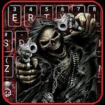 Devil Skull Keyboard Theme Icon