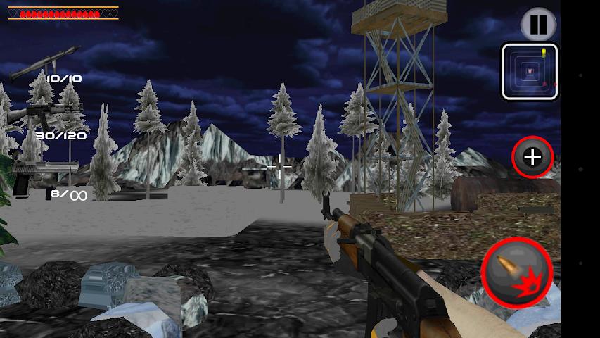 android Army Commando Shooter Sniper X Screenshot 2