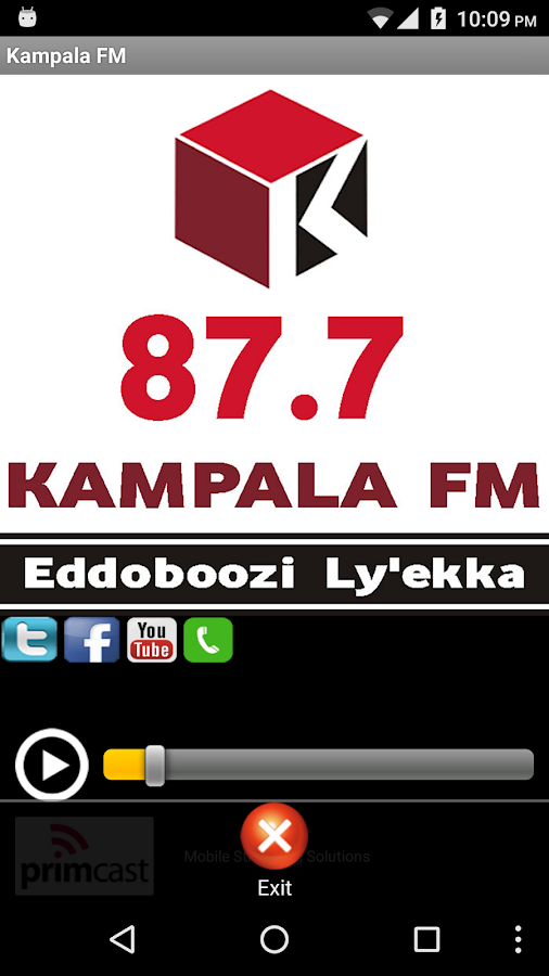 Kampala FM- screenshot