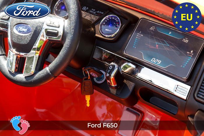 Ô tô điện Ford Ranger DK-F650 11
