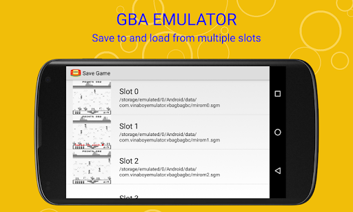 vinaboy advance - gba emulator screenshot 2