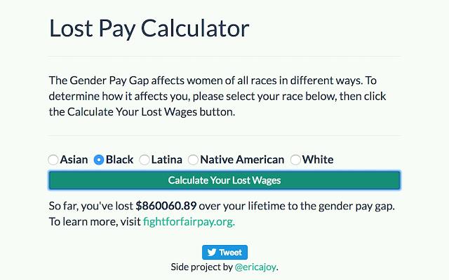Lost Pay Calculator